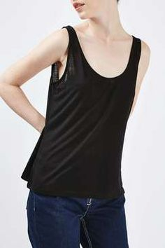 This basic skinny vest by Boutique is a wardrobe must-have for adding a dose of casual-cool to any outfit. In a versatile navy blue, wed style with boyfriend jeans and glove shoes. Billboard Women In Music, Boutique Tops, Boyfriend Jeans, Wedding Styles, Womens Fashion, Fashion Trends, Topshop, Skinny, Casual
