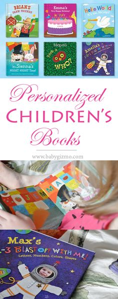 These personalized children's books are the best! They make the best gifts! #books #iseeme #ad