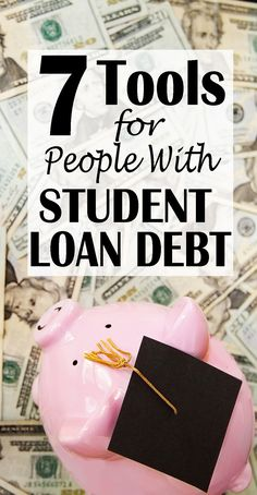 Suffering from student loan debt? That's why I created this guide with 7 resources for people with student loan debt. I've gone from. Debt Repayment, Loan Consolidation, Debt Payoff, Paying Off Student Loans, Student Loan Debt, Student Loan Forgiveness, Payday Loans, Motivation, Credit Cards