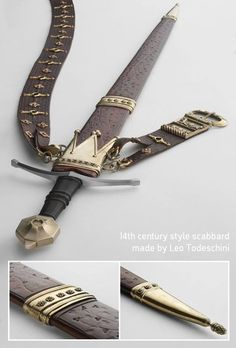 14th Century Scabbard by Tod