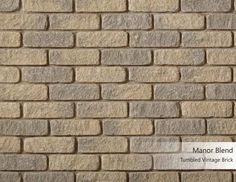 Tumbled Vintage Brick - Manor Blend