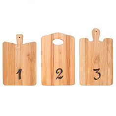 The European Kitchen Tasting Boards, Set of 3