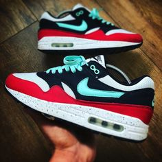 8c91c84446851 Nike ID Air Max 1 (by vieilleecole) – Sweetsoles – Sneakers, kicks ...