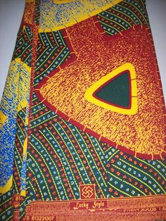African fabric Half yard fabric/ African wax by tambocollection