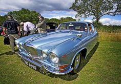 1969 Jaguar 420G. Classic design.