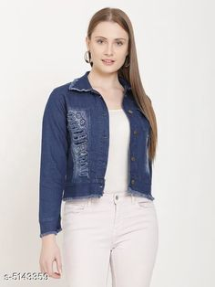 Jackets Classic Fashionista Women Jacket Fabric: Denim Sleeve Length: Long Sleeves Pattern: Solid Multipack: 1 Sizes:  S (Bust Size: 36 in Length Size: 30 in)  XL (Bust Size: 42 in Length Size: 30 in)  L (Bust Size: 40 in Length Size: 30 in)  M (Bust Size: 38 in Length Size: 30 in)  Country of Origin: India Sizes Available: S, M, L, XL   Catalog Rating: ★4.1 (2180)  Catalog Name: Free Mask Classic Fashionista Women Jackets Vol 1 CatalogID_759475 C79-SC1023 Code: 213-5143359-327