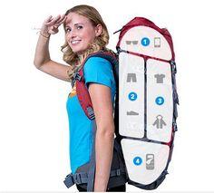 Backpack inpakken en kiezen