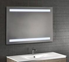 new backlit bathroom mirror led lights lighting bevel edge ir sensor