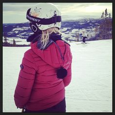 AI Riders On The Storm jacket on th snow by @annaams #airidersfan