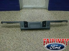 09 thru 14 Ford F-150 OEM Genuine Ford Rear Chrome Step Bumpers w// Prox Sensors