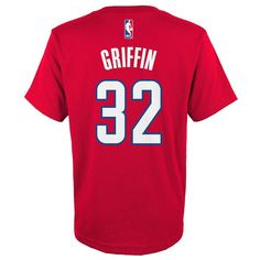 Boys 8-20 Adidas Los Angeles Clippers Blake Griffin Player Tee, Size: Xl(18/20), Ovrfl Oth