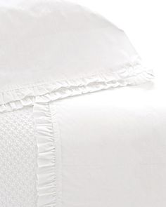 Pine Cone Hill Classic Ruffle Sheet Sets - Horchow