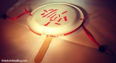 Festive Lunar New Year Craft for Kids – Make a Drum by Marnie at Kids Activities Blog