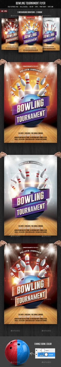 Rock Flyer Template a4, club, concert, design, events, flyer - bowling flyer template
