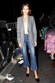 デニム パンツ denim トレンドデニム ファッション fashion 2016年 フレアデニム バギー アレクサ・チャン
