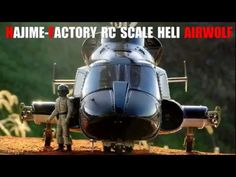 HAJIME-FACTORY RC Scale Heli Full Carbon Airwolf