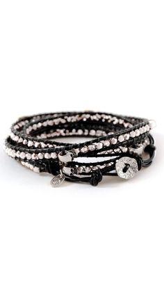 Pretty Edgy Skull Bracelet