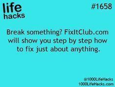 1000 Life Hacks by Lilieguerrero #LifeHack