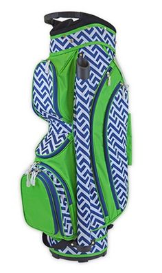 Nautical Tide  All For Color Ladies Cart Golf Bag at lorisgolfshoppe.com