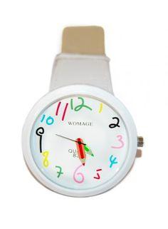 Huismerk Potlood Leren Horloge