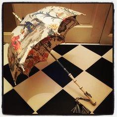 Unique, shapely umbrella found at Faded Velvet in Hartville, Ohio Photo Gallery - Faded Velvet