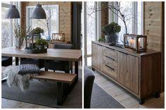 Bilderesultat for hytte interiør Decor, Furniture, Kitchen Island, House, Interior, Table, Entryway Tables, Home Decor, Indoor