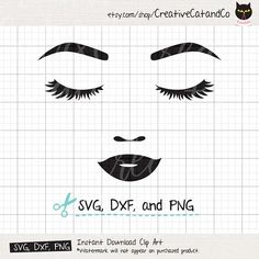 Free Eyelashes Svg Topfreedesigns Free Svg Files For