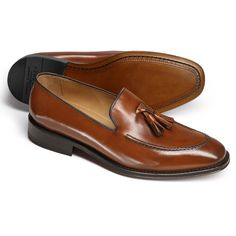 Tan Harley tassel loafer shoes -- These are a little pricey but this is the style!