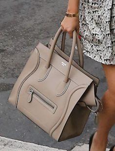 Kourtney Kardashian Leather Tote - Tote Bags Lookbook - StyleBistro