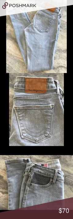 bc84b6a4 NWOT True Religion Embellished Studded Jeans Brand new! Classic True  Religion skinny jeans, accented