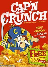 Captain Crunch has been and will forever be the best cereal.