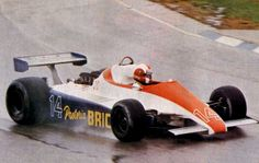 1981 Ensign N180B - Ford  (Marc Surer)