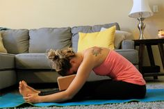 Follow this simple bedtime yoga sequence to slow down the body, the mind, and help get a better night's sleep.