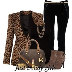 leopard blazer , work wear, Fashion Blazers for woman http://www.justtrendygirls.com/fashion-blazers-for-woman/