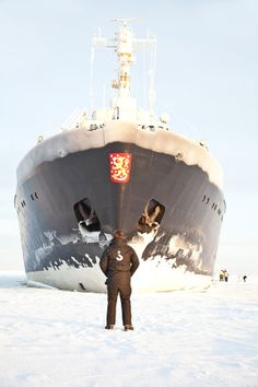 The Sampo icebreaker by Jouko Eskelinen on 500px