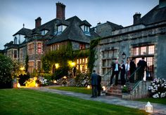 Llangoed Hall, Powys, Mid Wales - former home of Laura Ashley