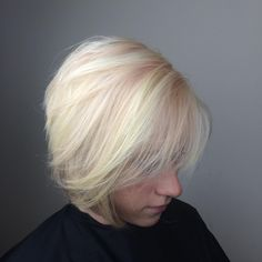 Blushed blonde! And a nice bob| color by @natedoggg_ | cut by #jonnystylez #hairgoals #blonde #wellahair #wellalife #instamatic #donewithdavines #davines #seasalt #blushtones #blush #pink #pinkhair #pastel #hairgoals #instaglam #instahair #haircutting #haircut @welllaeducation @modernsalon #subtle @stylistshopconnect @njbesthair