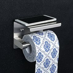 Alise Toilet Paper Holder Tissue Holders Paper Storage with Mobile Phone Storage Shelf,SUS304 Stainless Steel Brushed Finish #Alise #Toilet #Paper #Holder #Tissue #Holders #Storage #with #Mobile #Phone #Shelf,SUS #Stainless #Steel #Brushed #Finish