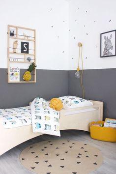 44 Ideas baby nursery yellow walls kids rooms for 2019 Boys Bedroom Decor, Small Room Bedroom, Baby Bedroom, Baby Boy Rooms, Bedroom Wall, Girls Bedroom, Bedroom Ideas, Plan Chalet, Ideas Habitaciones