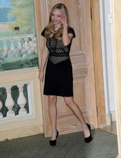 Amanda Seyfried attend the 'Time Out photo call at Hotel Bristol in Paris, France.