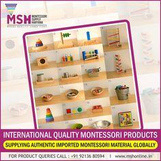 Montessori Supply Haryana is a North India based Company. We have a complete range of premium Montessori material, Furniture & Preschool teaching aids . Teaching Aids, Montessori Materials, Preschool, Kid Garden, Kindergarten, Preschools, Kindergarten Center Management