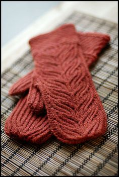 .Mittens by Brooklyn Tweed