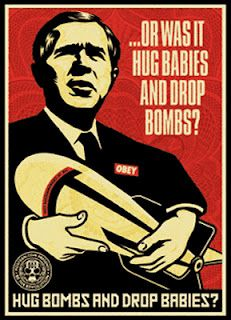 View George Bush Triptych by Mear One, Robbie Conal and Shepard Fairey on artnet. Browse upcoming and past auction lots by Mear One, Robbie Conal and Shepard Fairey. Protest Art, Protest Posters, Shepard Fairey Art, Obey Art, Baby Hug, Political Art, Political Posters, Bd Comics, Triptych