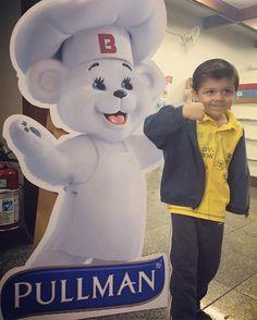 Mais de hoje, no #evento da #Pullman!  Quem vê pensa que é tímido assim!  #Pullmandunite #dunite #lancheirasaudavel