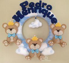 Guirlanda Maternidade Ursinho Principe