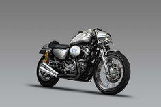 Harley Davidson Sporster 883 With DK Motorrad Kit    ♠ http://milchapitas-kustombikes.blogspot.com/ ♠