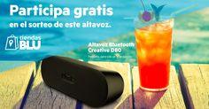 Sorteo Primavera de Altavoz Bluetooth Creative D80