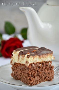 Polish Recipes, Food Cakes, Baked Goods, Tiramisu, Cake Recipes, Food And Drink, Cooking Recipes, Pudding, Kuchen