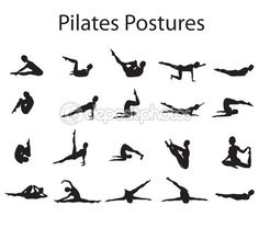 #Pilates Postures