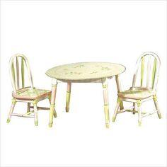 Teamson Crackled Rose Room Hand Painted Set Kids Chair